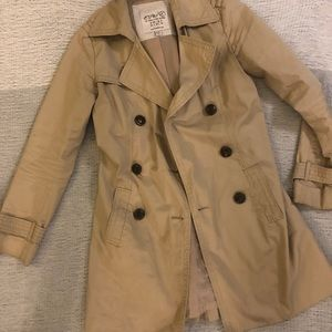 Classic timeless trench coat